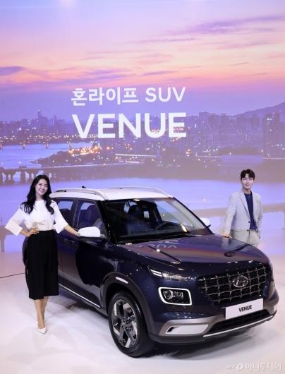 [사진]현대차, 엔트리 SUV '베뉴' 출시