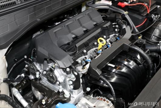 [사진]'베뉴'의 스마트스트림 G1.6 엔진