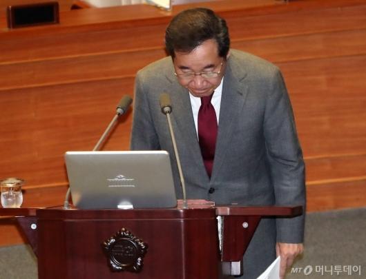 [사진]국회 찾은 이낙연 총리
