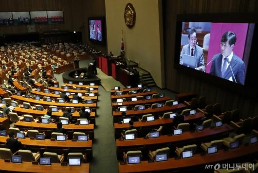 [사진]국회 대정부질문