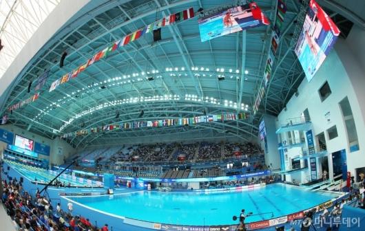 [사진]'2019 광주세계수영선수권대회' 오늘 개막