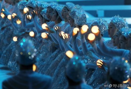[사진]평화의 마음이 모인 빛