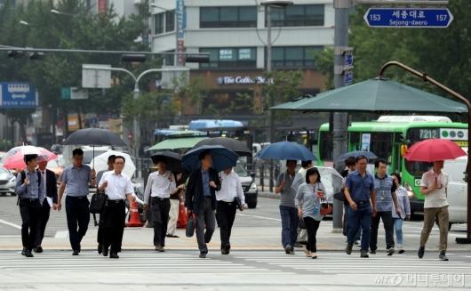 [사진]'우산 준비하세요'