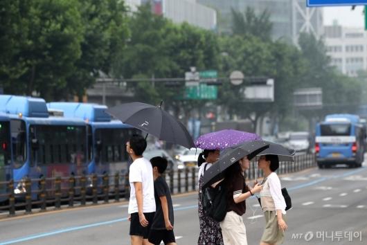 [사진]소나기 내리는 서울