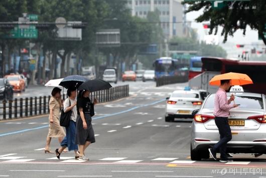 [사진]'오늘 우산 준비하세요'