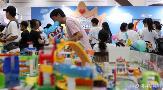 [사진]장난감 천국 열린 '캐릭터 라이선싱 페어'