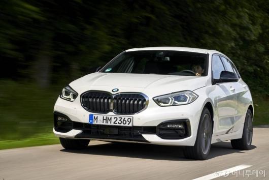 [시승기]신상 BMW '뉴 1시리즈', 독일서 타봤습니다