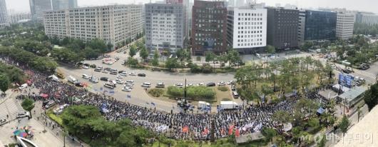 [사진]'민주노총 총파업 대회'