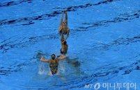 러시아, 아티스틱 수영 팀 금메달