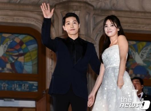 '세기의 커플' 송혜교-송중기 결국 이혼…합의로 마무리 (상보)
