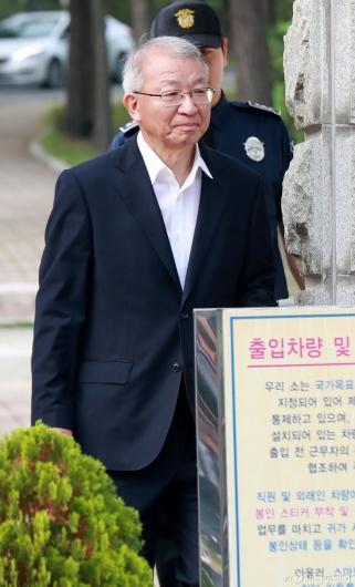 [사진]보석으로 풀려나는 양승태 전 대법원장