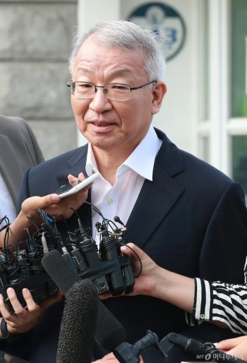 [사진]구치소 나온 양승태 전 대법원장
