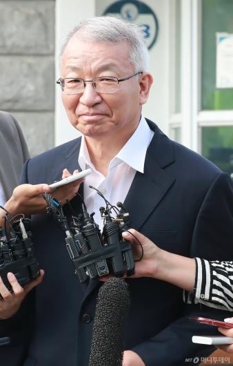 [사진]입다문 양승태 전 대법원장