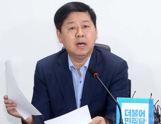 [사진]당정확대 재정관리 점검회의 참석한 구윤철