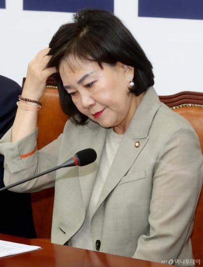 [사진]5.18망언 징계 종료 최고위 참석한 김순례