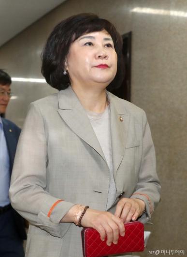 [사진]최고위 참석하는 김순례