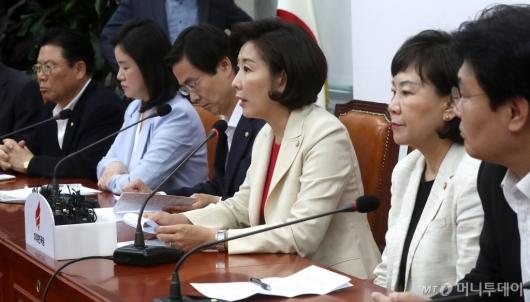 """[사진]나경원 """"금주 안에 안보국회 열어야"""""""