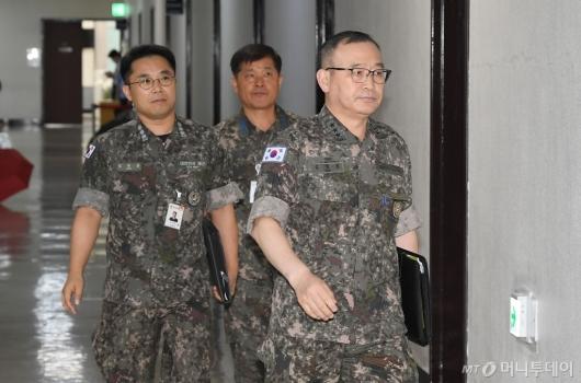 [사진]합참, 北 단거리 미사일 관련 국회 보고
