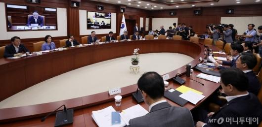 [사진]일본 수출 규제 대응 관계장관회의