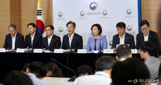 [사진]소재부품장비 경쟁력 강화 대책 발표