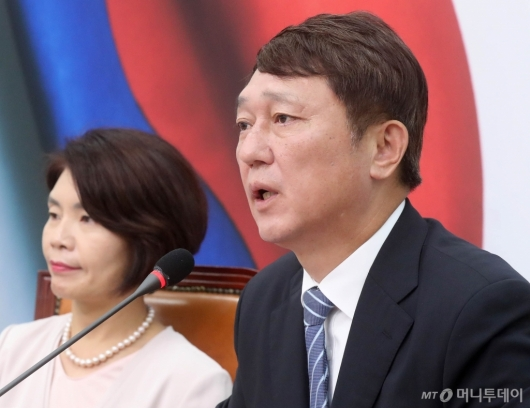 [사진]발언하는 최재성 위원장