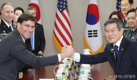 [사진]'굳건한 한-미 동맹'