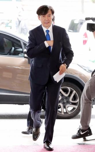 [사진]인사청문회 준비하는 조국