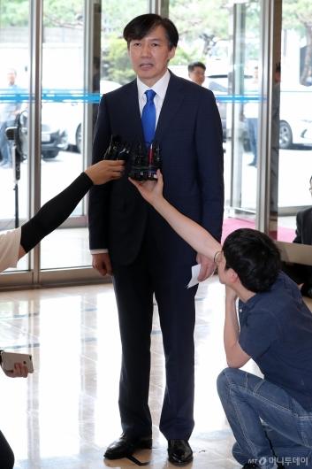 [사진]인사청문회 준비하는 법무부 장관 후보자 조국