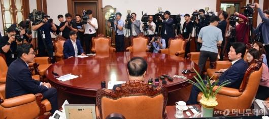 [사진]여야 교섭단체 원내회동