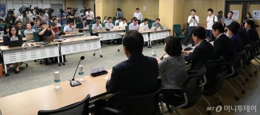 [사진]주한 일본 언론 기자간담회