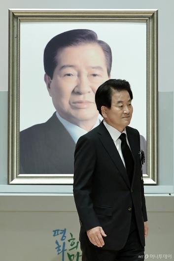 [사진]DJ 서거 10주기 추도식 참석한 정동영 대표