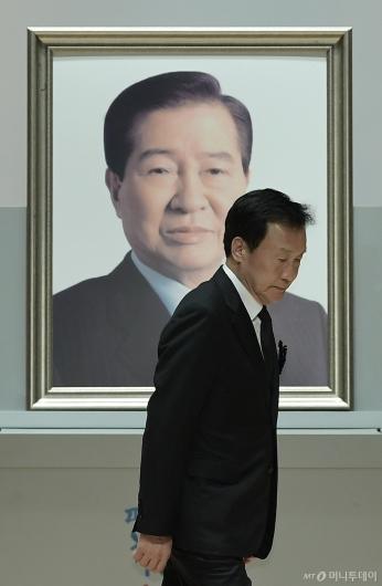 [사진]DJ 서거 10주기 추도식 참석한 손학규 대표