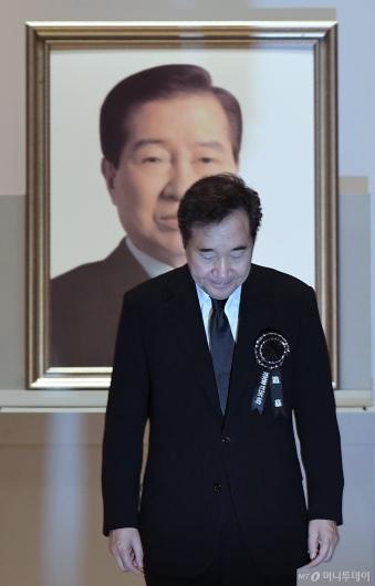 [사진]이낙연 총리, 고 김대중 전 대통령 서거 10주기 추도식 참석