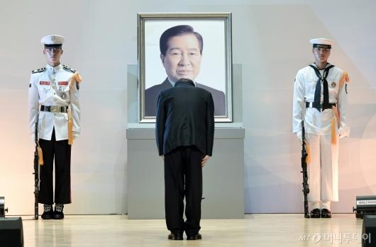 [사진]故 김대중 전 대통령 서거 10주기 추도식
