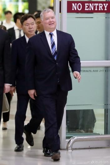 [사진]스티븐 비건 방한