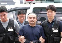 '한강 몸통 시신 사건' 피의자 <br>장대호 얼굴 공개