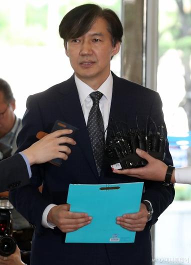 [사진]딸 특혜 논란 입장 밝히는 조국 법무장관 후보