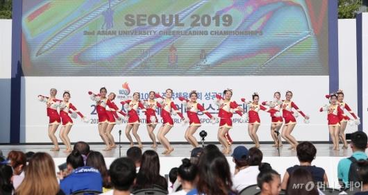 [사진]'2019 서울국제치어리딩스포츠대회' 참가한 중국