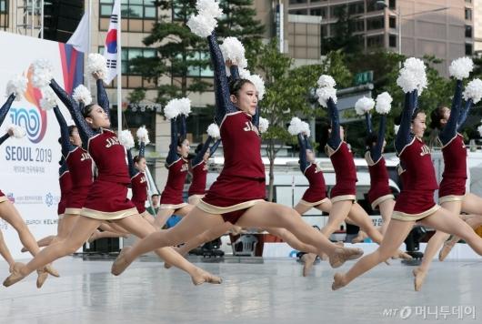 [사진]'서울 국제 치어리딩 스포츠 대회'