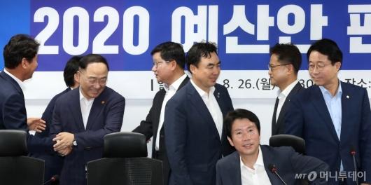 [사진]2020 예산안 편성 위해 모인 당정