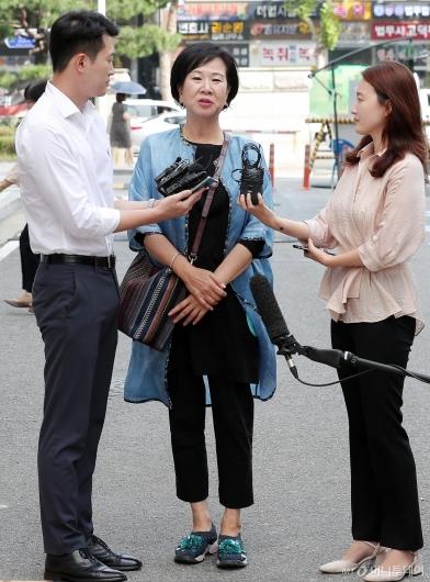 [사진]'부동산 투기의혹' 입장 밝히는 손혜원 의원