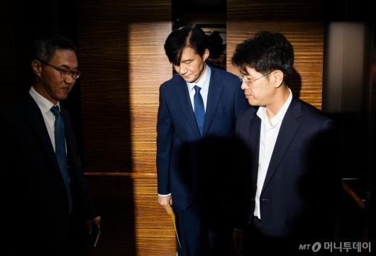 [사진]검찰개혁안 발표한 조국 법무장관 후보자