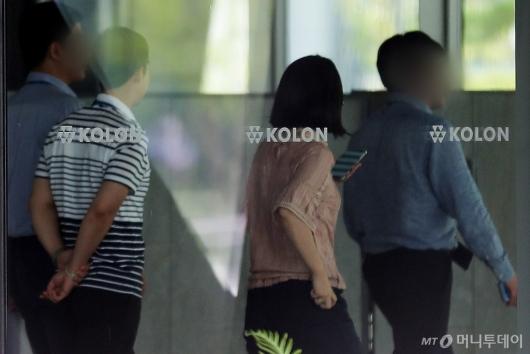 [사진]코오롱티슈진 상폐 여부 오늘 발표...적막감 도는 본사