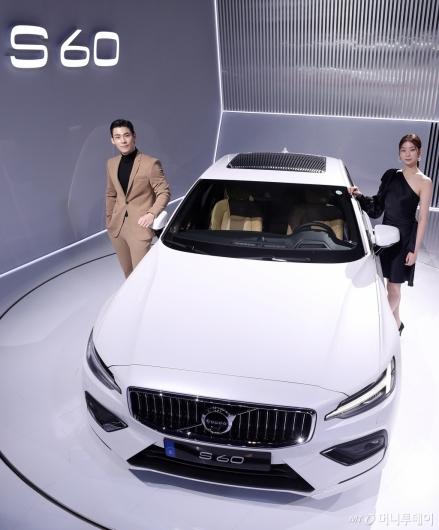 [사진]스포티한 디자인 세단 볼보 'S60'