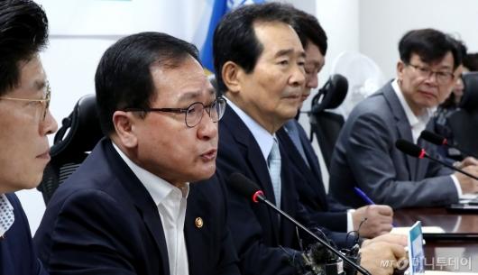 [사진]일본 수출규제 대응하는 당정청