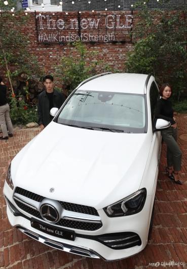 [사진]벤츠 코리아 SUV '더 뉴 GLE' 출시