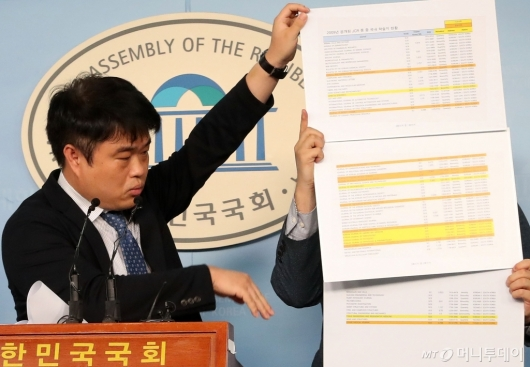 [사진]임현택 회장, 조국 후보자 딸 논문 반박 기자회견