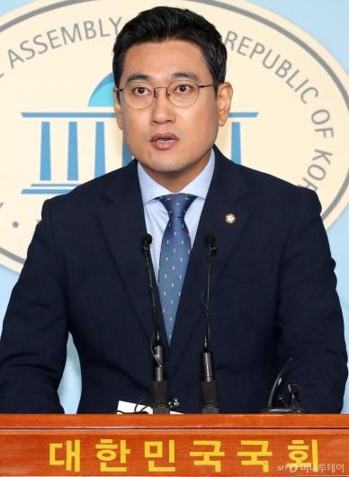 """[사진]오신환 """"조국 일가 국정조사·특검 추진"""""""