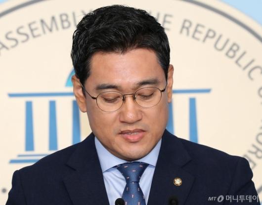 """[사진]오신환 """"조국 청문회 협상 전면 중단"""""""