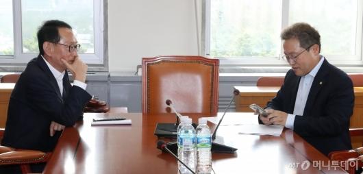 [사진]조국 청문회 증인 채택 관련 논의
